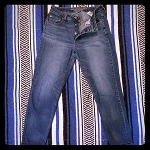 High waisted American Eagle jeans